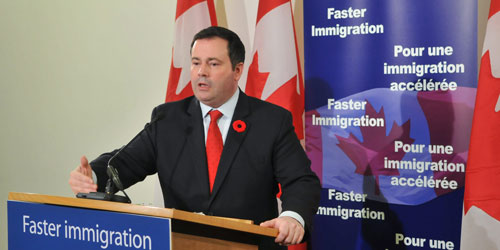 "Canada's immigration system will become fast, flexible and responsive to the labour market, with a proposed ""just-in-time"" application processing system coming into effect in 2013, promised Citizenship, Immigration and Multiculturalism Minister Jason Kenney this past fall. Kenney also said he expected to lift the pause in the federal skilled worker applications in 2013, when the new selection criteria would take effect. In advance of the New Year, Minister Kenney discussed Citizenship and Immigration Canada's strategy on improving the immigration system with Canadian Immigrant."