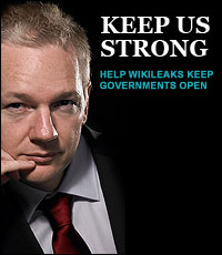 WikiLeaks: Keep Us Strong!