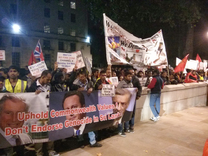 British Tamils Forum: Mass Rally in London Calls on UK to Boycott CHOGM